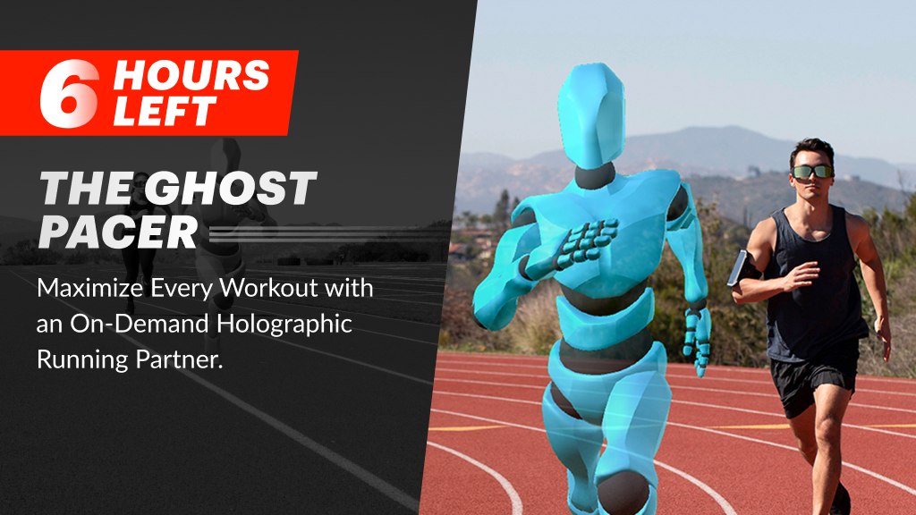 Ghost Pacer: Your Personal Holographic Workout Partner project video thumbnail