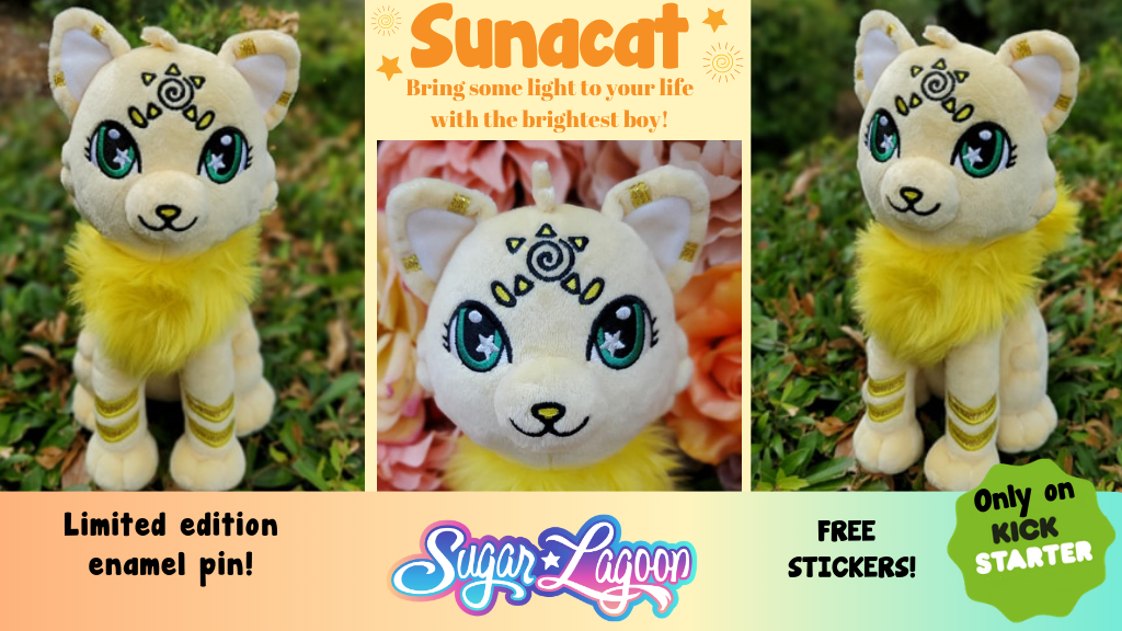 Project image for Sunacat - The Brightest Boy Sunshine Kitty Plush