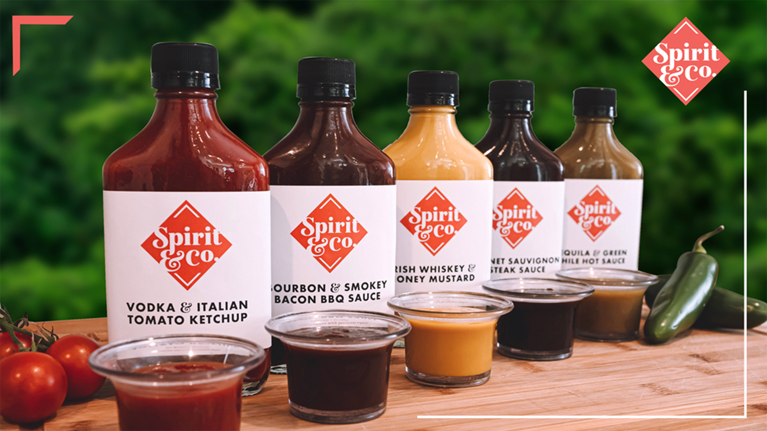 Makers of distinctive sauces with premium liquor. Our condiments are all-natural and hand-crafted using ingredients with provenance.