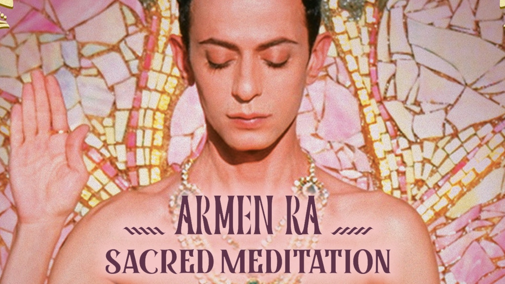Armen Ra SACRED MEDITATION Mystical Harmonics Sound Crystal project video thumbnail