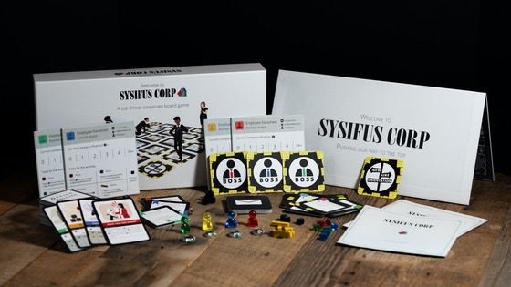 Welcome to Sysifus Corp board game