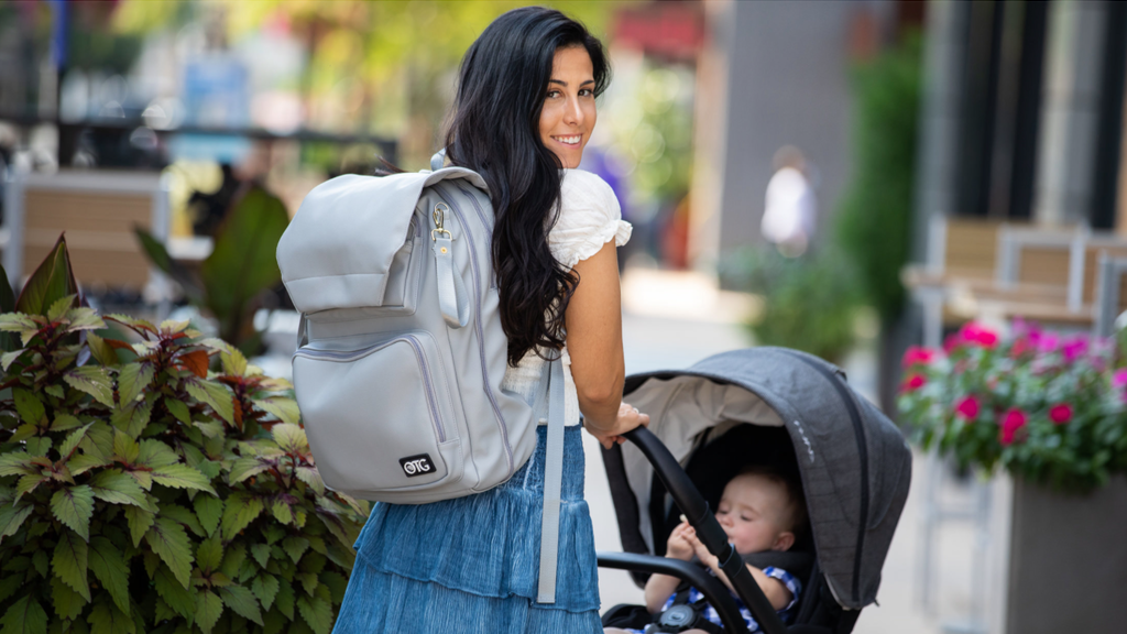 The Diaper Changing Backpack by OTGbaby project video thumbnail