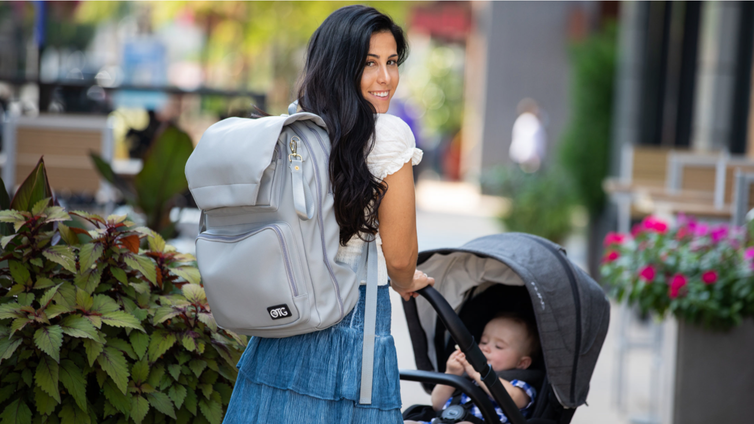 The diaper changing backpacks are entering production and will be available for purchase on otgbaby.com in February. Can't wait to order yours? Pre-order on Indiegogo for $60 off retail price.