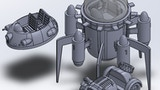Spaceship, off-road , hoover vehicles STL Files 3d printer. thumbnail