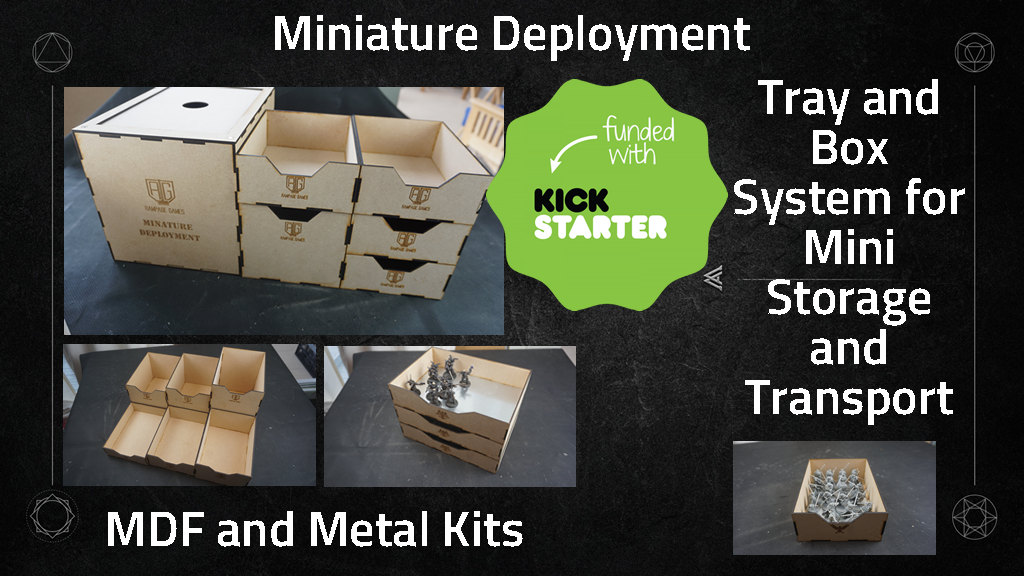 Rampage Games - Minature Deployment project video thumbnail