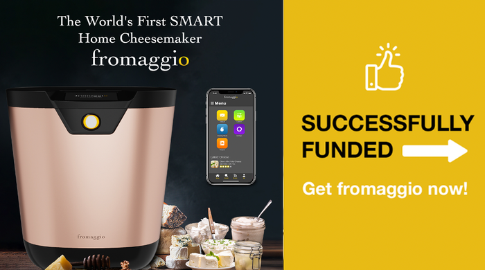 Effortlessly make your own delicious, natural cheeses at home with fromaggio's advanced, patent-pending technology