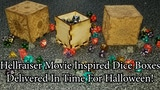 Hellraiser inspired dice boxes thumbnail