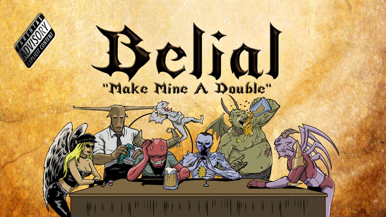 The second issue of the hilarious can't-miss mini-series, Belial, an action adventure comedy of Hellish proportions.