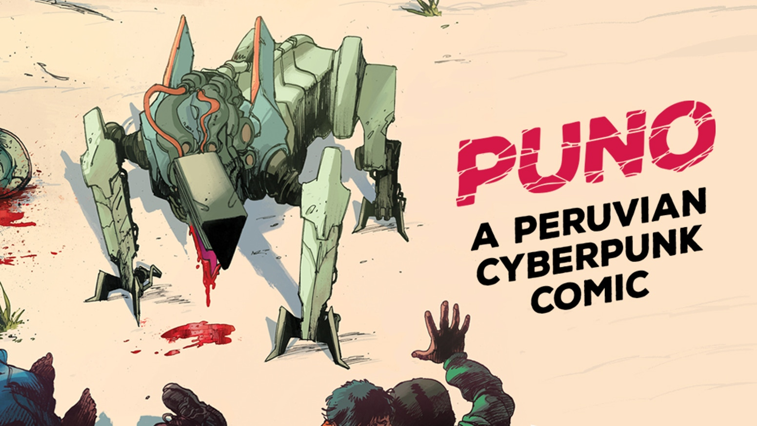 Enter a dystopian world of cyborgs, robot dogs and gangsters.