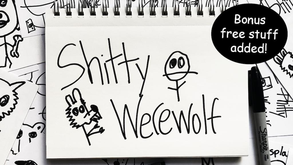 Sh*tty Werewolf project video thumbnail