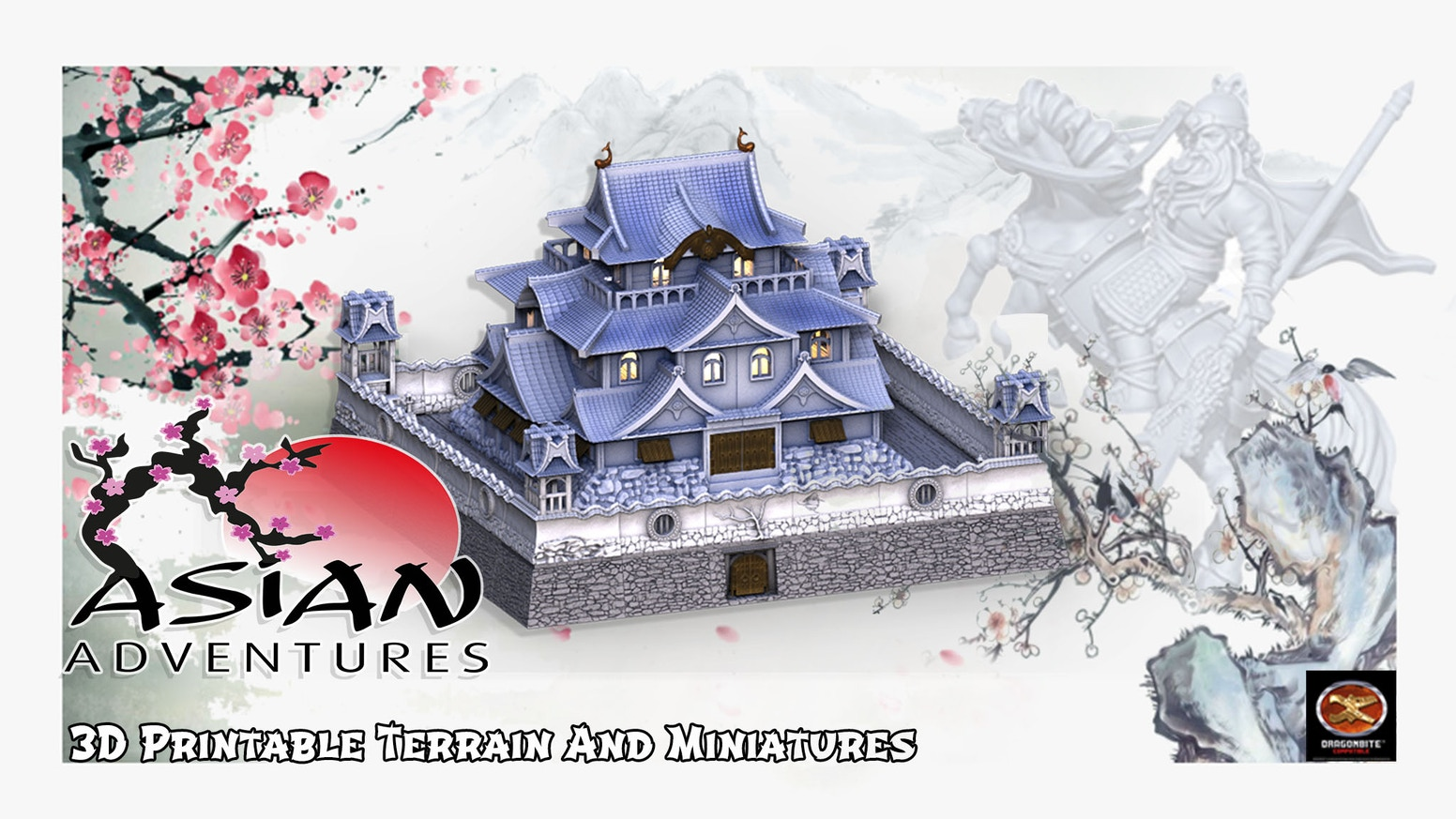 3D Printable STL Miniatures and terrain for Role Playing Games, Tabletop, Wargames, or other RPG