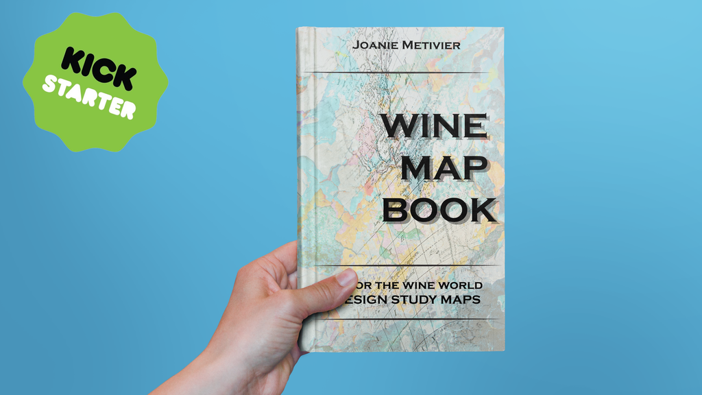 Wine Map book project video thumbnail