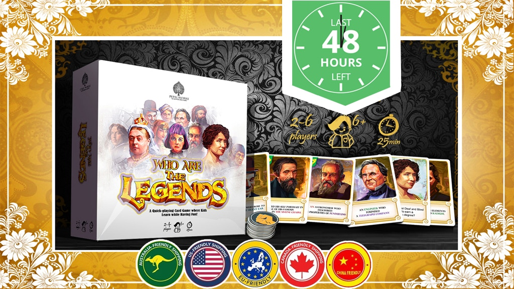 Who are the legends project video thumbnail