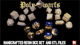 Poly-Dwarfs, Handcrafted STL & resin dice set from Riot Dice thumbnail