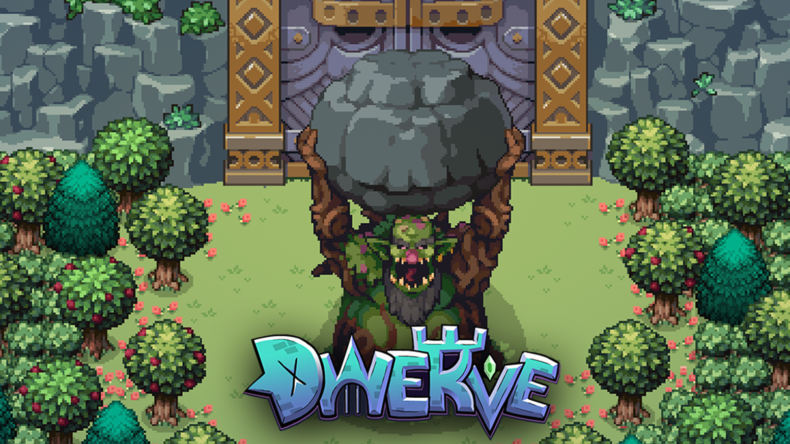 Play as a dwarven tinkerer that uses turrets and traps to fight!