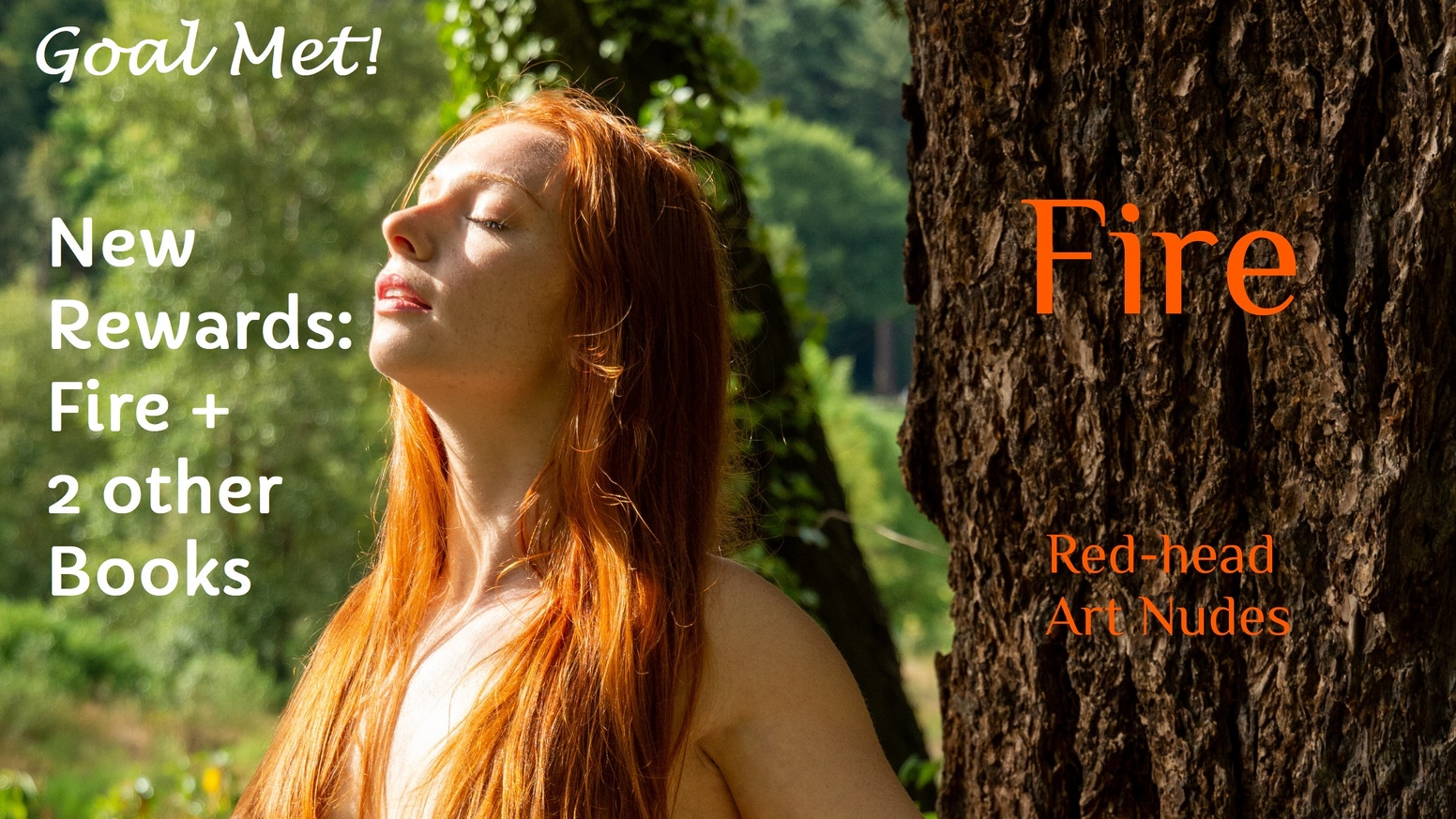 Fire is a photobook of art nude images of red-haired women, which will ignite your senses! Pre-order still available on my website.