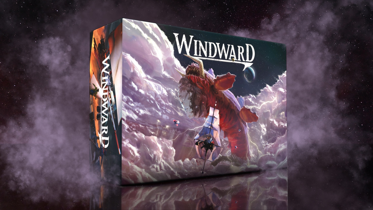 Become the most notorious sky captain by harnessing the wind, hunting leviathans, and plundering opponents.