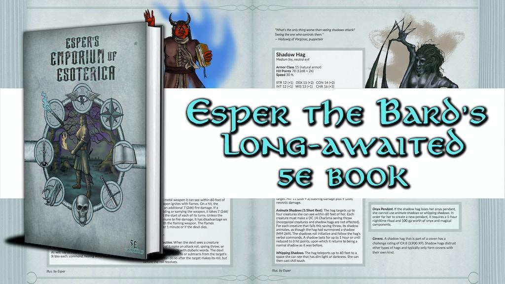 Esper's Emporium of Esoterica project video thumbnail
