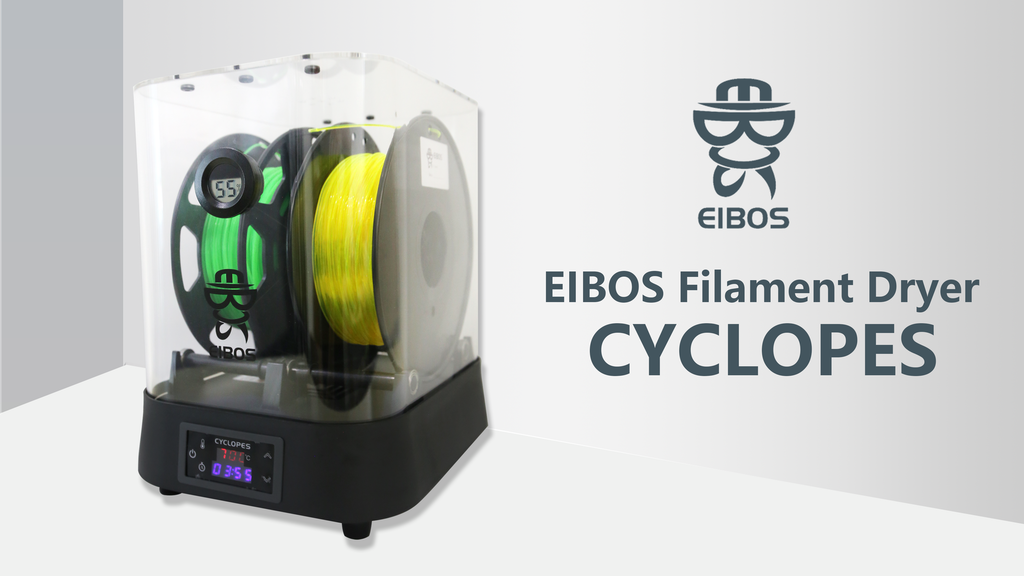 EIBOS FilamentDryer: DRY FAST, EXTRA LARGE, HIGH TEMPERATURE project video thumbnail