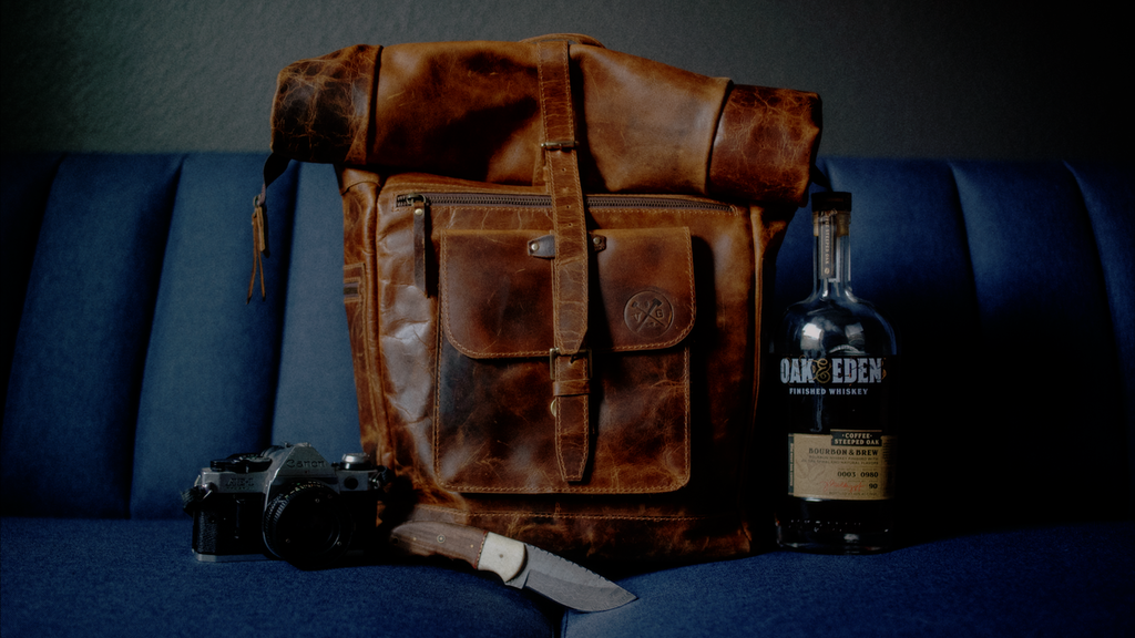 Project image for The Roosevelt Buffalo Leather Backpack