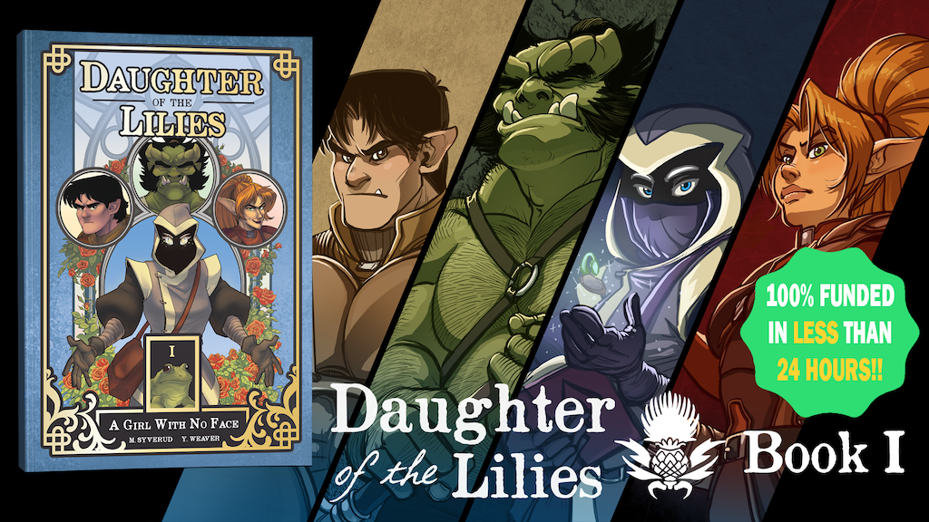 Daughter of the Lilies - Book 1 project video thumbnail