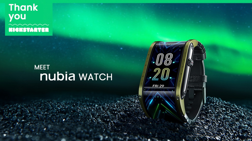 Nubia Watch, A Futuristic Flexible Display Smartwatch project video thumbnail