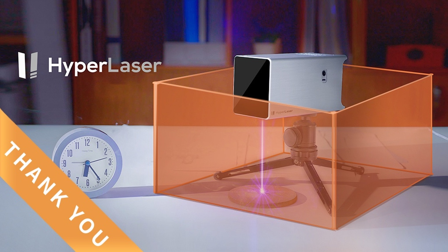 HyperLaser redefines the laser engraving with powerful features and user-friendly operation. It makes laser creation easy, safe and fun