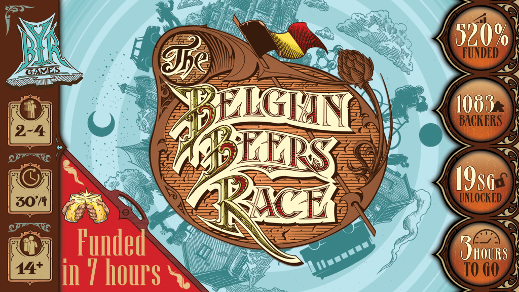 The Belgian Beers Race - Boardgame project video thumbnail