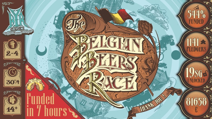 Have a crazy race through Belgium and its breweries.