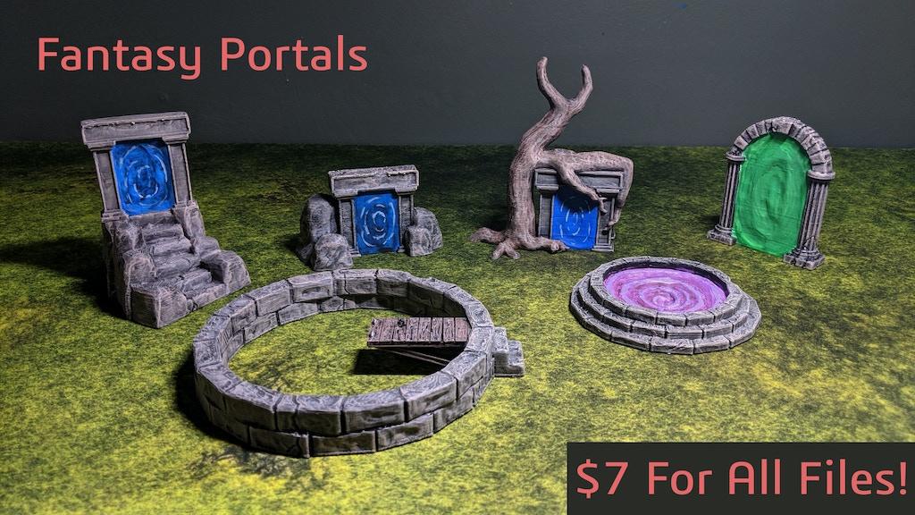 Project image for Fantasy Portals