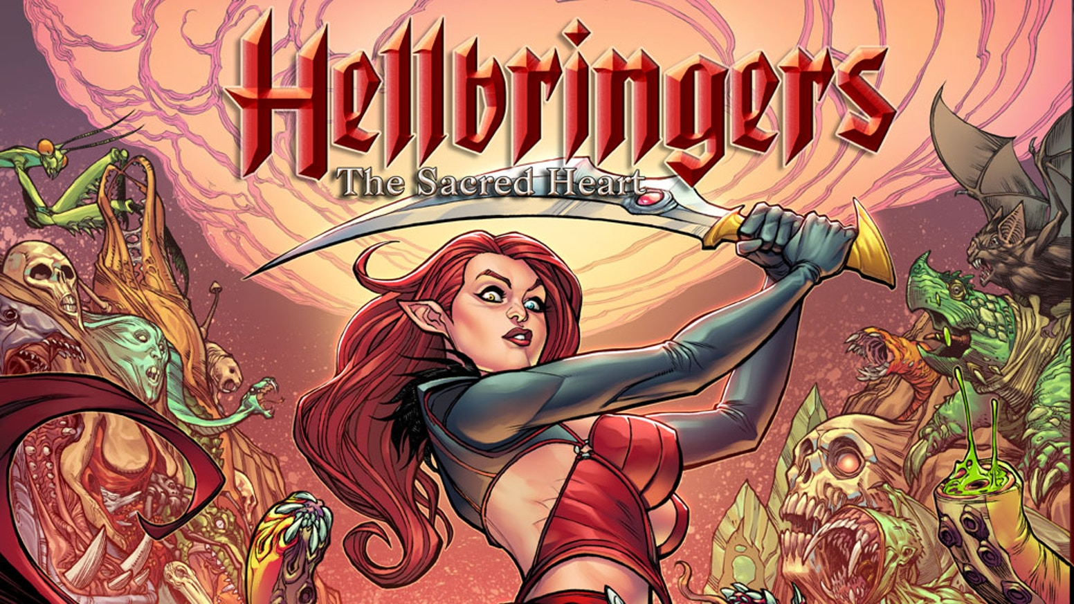 The Queen of Hell must take back her kingdom in this new comic by Chad Hardin, Ryan Brown, and Mark May.