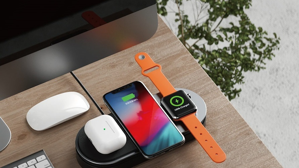 Power-Tube Wireless Station| For Apple Watch, iPhone, AirPod