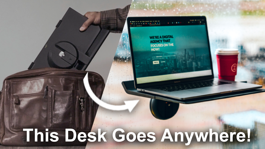 Motis – a Mobile Standing Desk for Work at Home & On-the-Go project video thumbnail