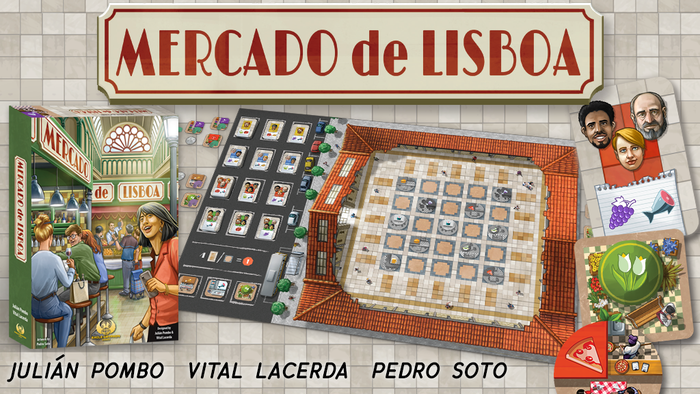 A thinky filler game by Julián Pombo and Vital Lacerda with artwork by Pedro Soto