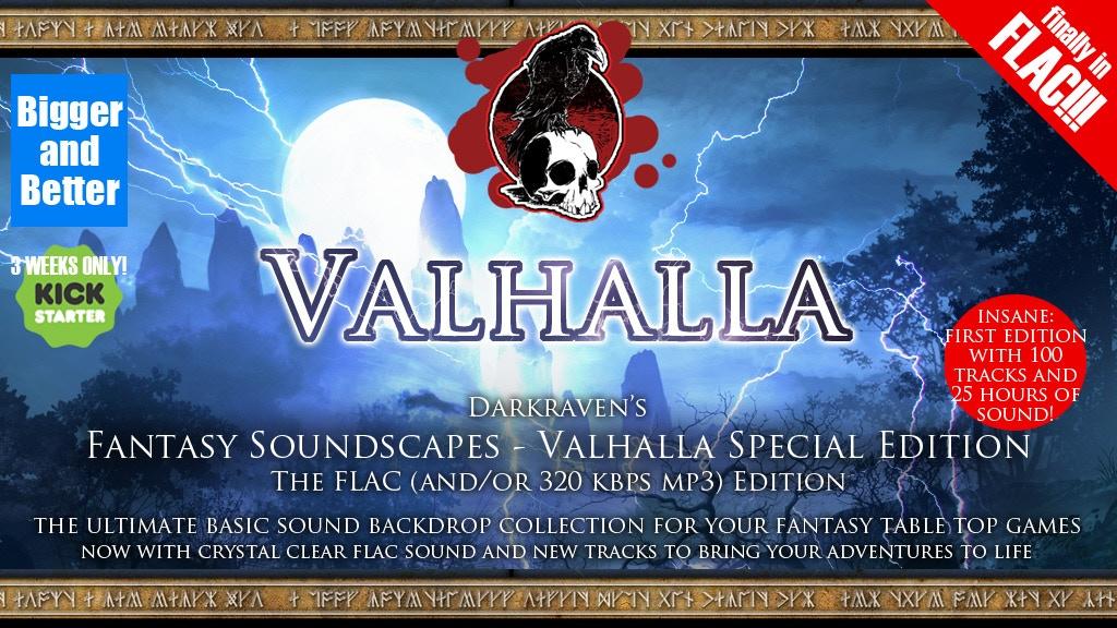 Valhalla Darkraven Fantasy Soundscapes - FLAC Edition! project video thumbnail