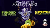 Assault on the Marmot King - Flip&Write Game thumbnail