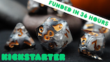 The Hallowed Harvest: Halloween Themed, Sharp Edged Dice thumbnail