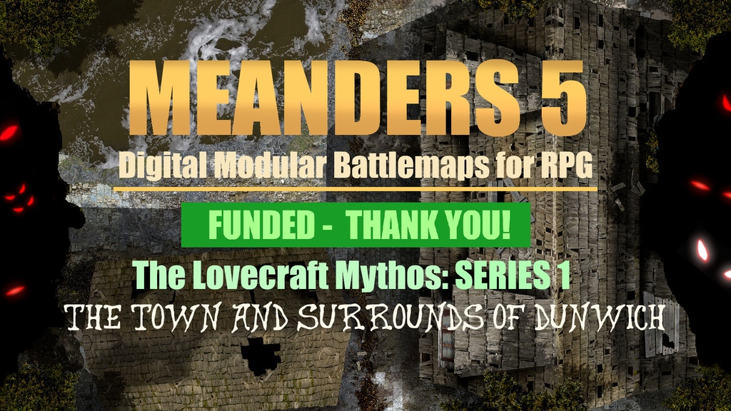 Project image for Meanders 5: Lovecraft Mythos Maps