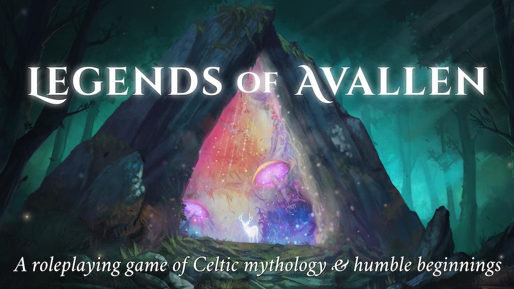 Legends of Avallen: a Celtic-Roman TTRPG project video thumbnail