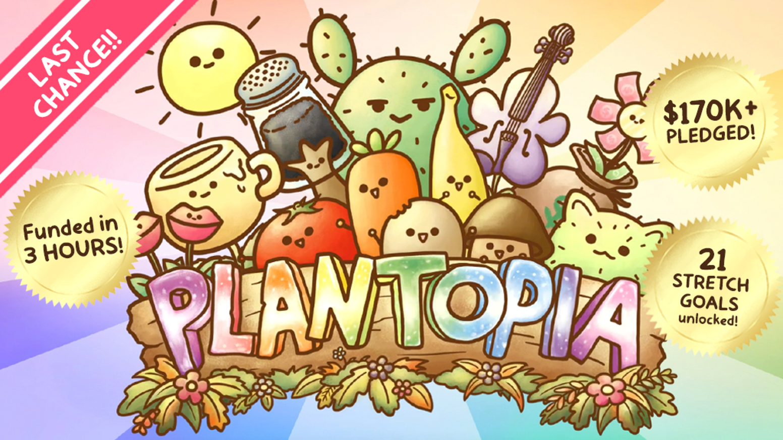 A strategic card game based on the wonderful and wacky world of Life of a Potato.