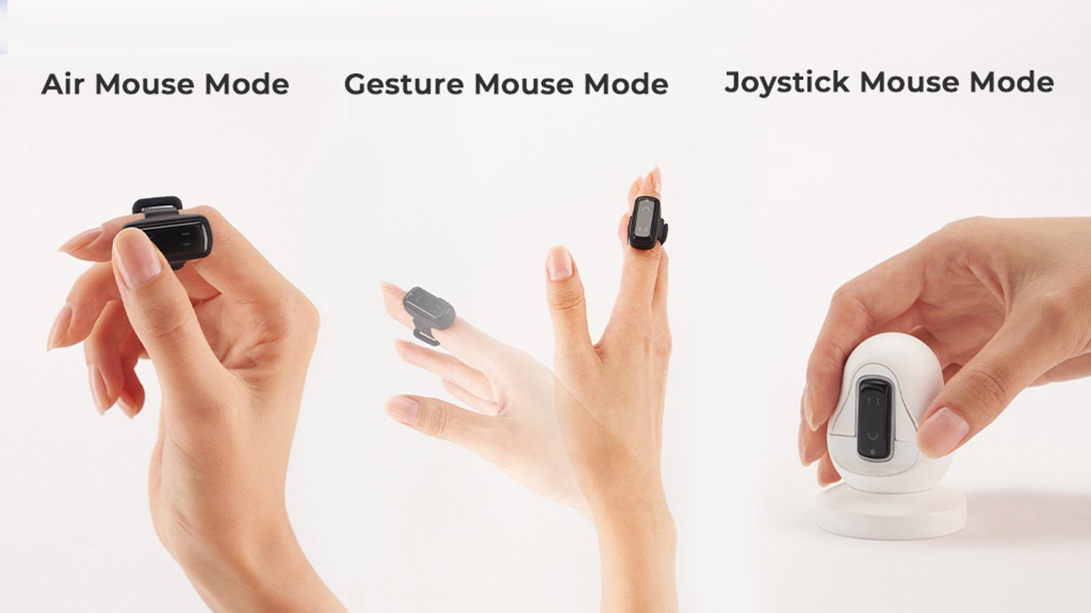 3 versatile modes with Bluetooth, Gesture Machine Learning & 9DoF for intuitive gesture control over your devices with minimal latency!
