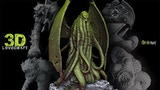 3D Lovecraft Collection: Cthulhu STL & Physical Miniatures thumbnail
