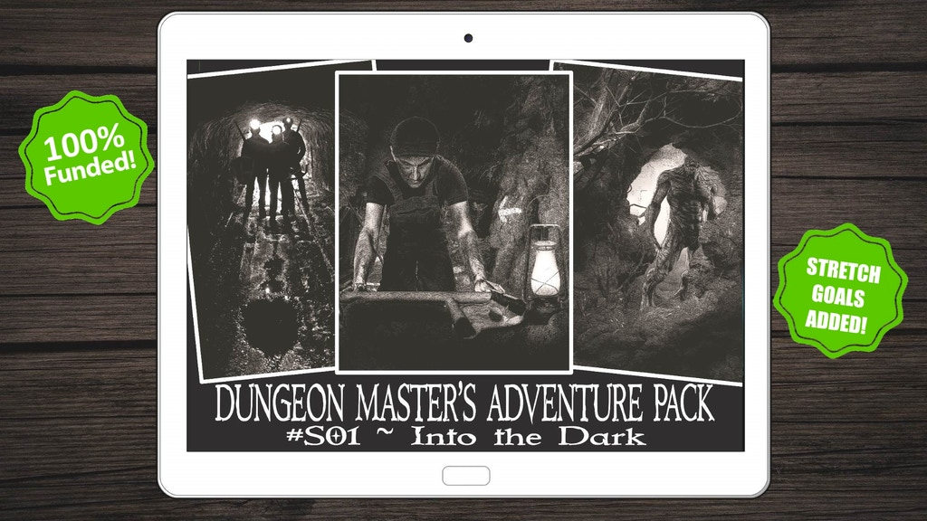 Project image for Into the Dark - Fantasy RPG Magazine and Adventure