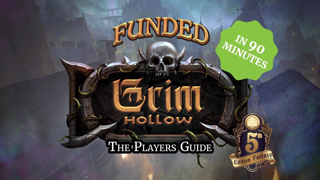 Grim Hollow: The Players Guide project video thumbnail