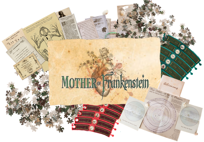 Mother of Frankenstein Bookish Game