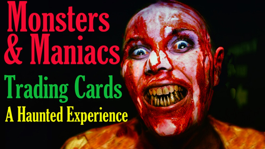 Monsters & Maniacs: A virtual haunted house w/ trading cards project video thumbnail
