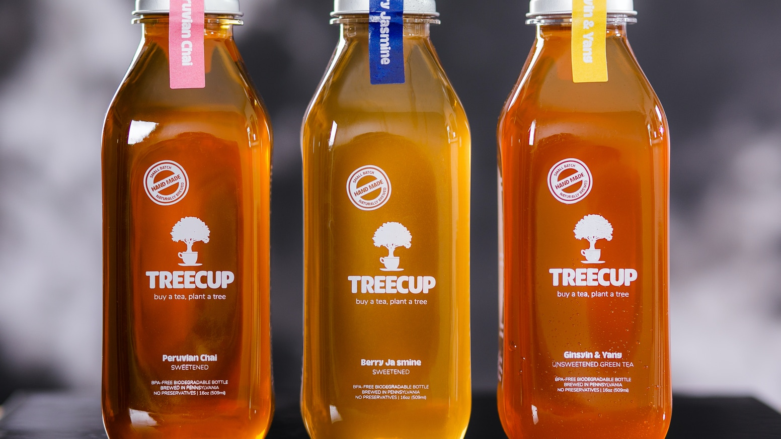 Opposing the wasteful ways of the bottled beverage industry. Combating deforestation in Haiti through organic tea.