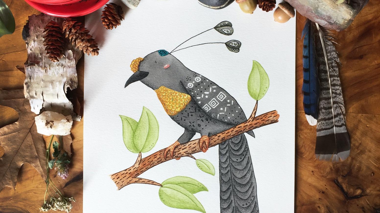 Calendrier d'oiseaux du paradis 2021! by Catherine Bard — Kickstarter