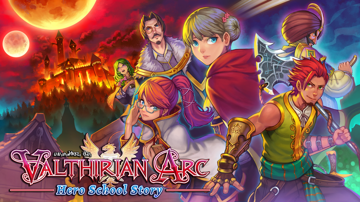 Manage your own academy of warriors, complete missions, and become the hero of Valthiria! Out now on PC, Switch, and PS4!