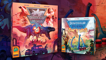 Dinosaur World and Dinosaur Island: Rawr 'n Write